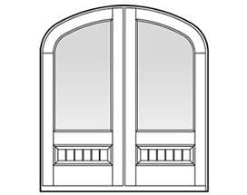 Andersen Entry Door Style 658