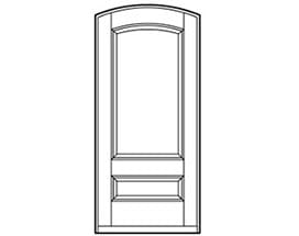 Andersen Entry Door Style 661