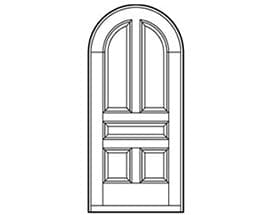 Andersen Entry Door Style 662