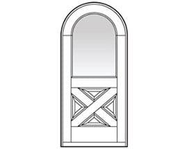 Andersen Entry Door Style 672