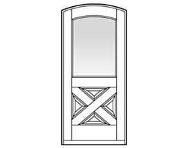 Andersen Entry Door Style 673