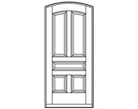 Andersen Entry Door Style 675