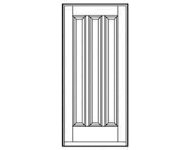 Andersen Entry Door Style 676