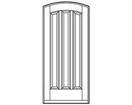 Andersen Entry Door Style 677