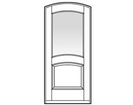 Andersen Entry Door Style 692