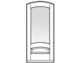 Andersen Entry Door Style 693