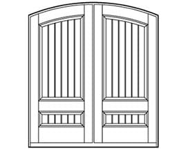 Andersen Entry Door Style 701