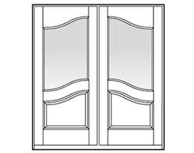 Andersen Entry Door Style 702
