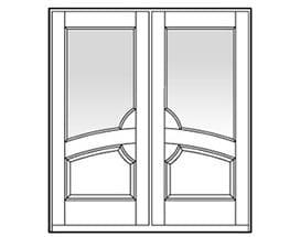 Andersen Entry Door Style 703