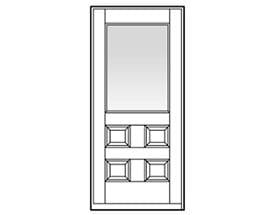 Andersen Entry Door Style 704
