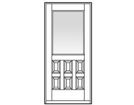 Andersen Entry Door Style 705