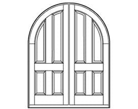 Andersen Entry Door Style 707