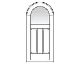 Andersen Entry Door Style 708
