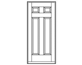 Andersen Entry Door Style 710