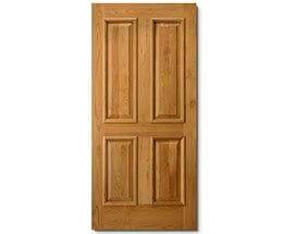 Entry Door Materials - Alder
