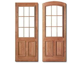 Entry Doors - Colonial Grilles