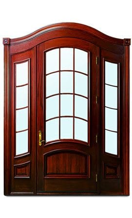 Andersen Entry Doors - Arch Style With Sidelights