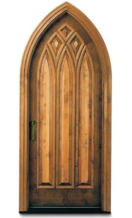 Andersen Entry Doors - Gothic Style