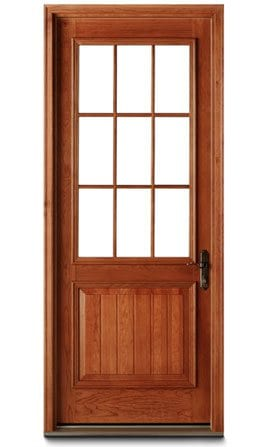 Residential entry doors andersen windows for Residential front doors with glass