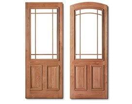 Andersen Entry Doors Prairie Grilles