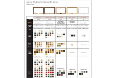 andersen gliding patio doors comparison chart