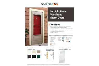 product info sheet- 10 Series 3/4 Light