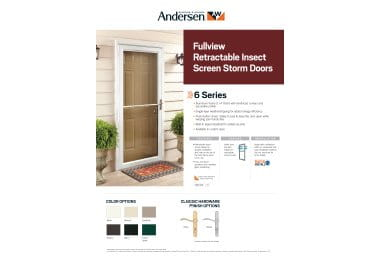 product info sheet- 6 Series Fullview Retractable