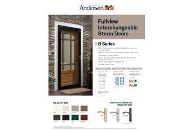 product info sheet- 8 Series Fullview Interchangeable
