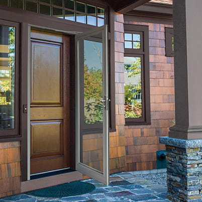 10 series fullview storm door