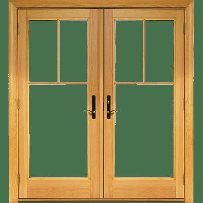 400 Series Frenchwood 174 Hinged Patio Door