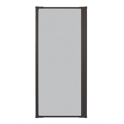 LuminAire™ Retractable Insect Screen Door