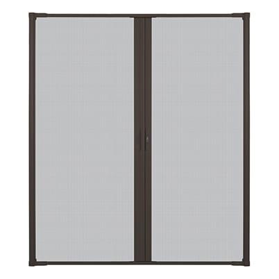 LuminAire™ Retractable Insect Screen Door
