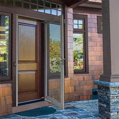 10 Series Fullview Interchangeable Storm Door Beauty Shot