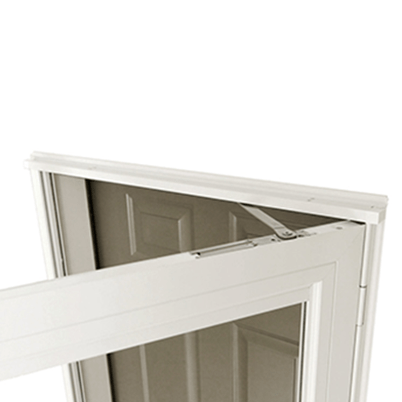 10 Series Fullview Interchangeable Storm Door Smooth Control