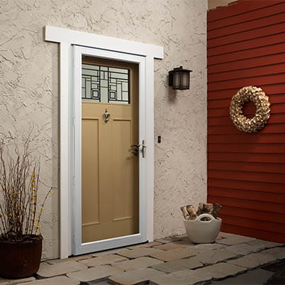 10 Series Fullview Laminated Storm Door Beauty Shot
