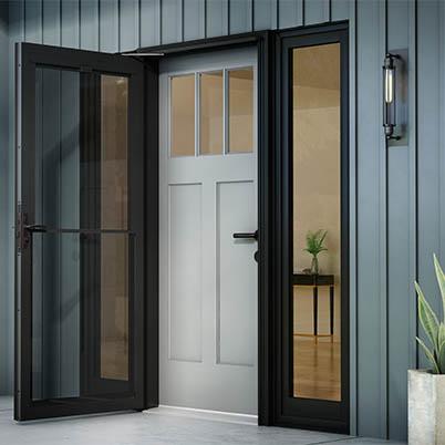 10 Series Fullview Retractable Storm Door