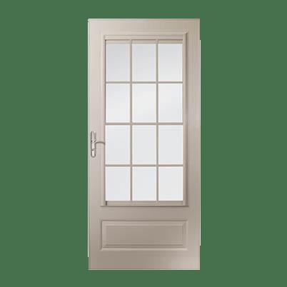 10 Series 3/4 Light Panel Ventilating Storm Door
