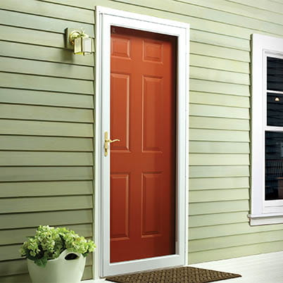 6 Series Fullview Interchangeable Storm Door Beauty Shot