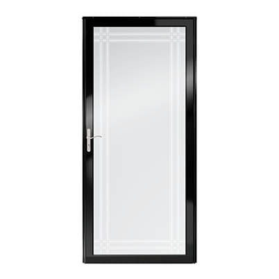 6 Series Fullview Interchangeable Storm Door Exterior
