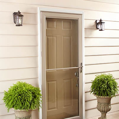 6 Series Fullview Retractable Storm Door Beauty Shot