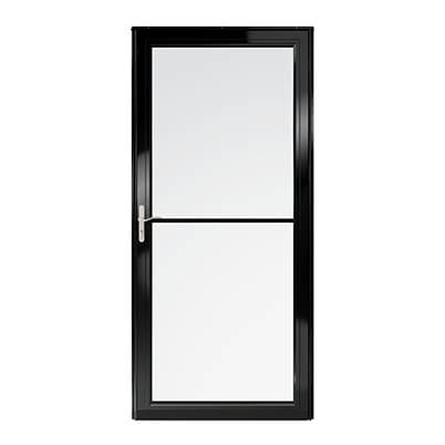 6 Series Fullview Retractable Storm Door Exterior