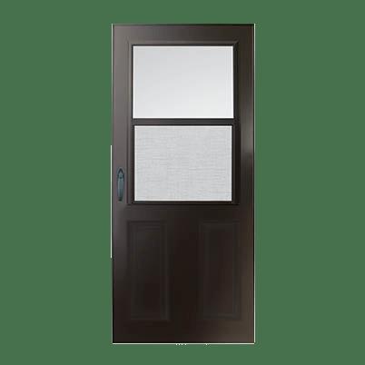 6 Series 1/2 Light Panel Ventilating Storm Door