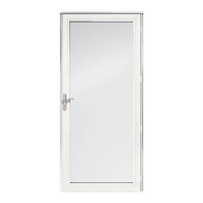 8 Series Fullview Interchangeable Storm Door Exterior
