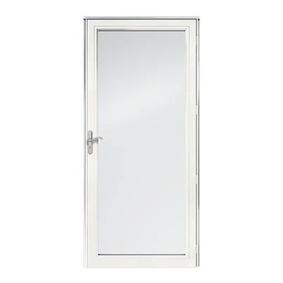 8 Series Fullview Interchangeable Storm Door Exterior