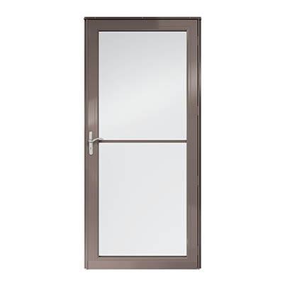 8 Series Fullview Retractable Storm Door Exterior