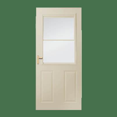 8 Series 1/2 Light Panel Ventilating Storm Door Intro Image