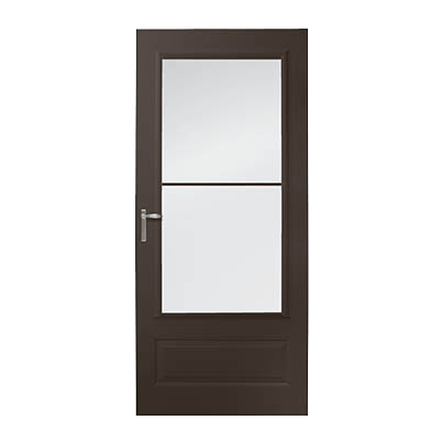 8 Series 3/4 Light Panel Ventilating Storm Door Intro Image