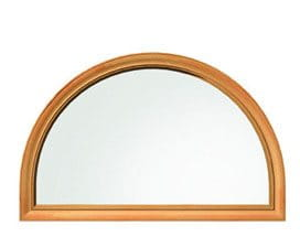 Half Circle Special Shape Window