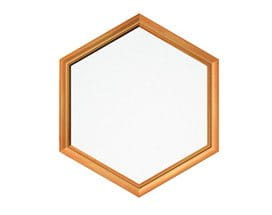 Hexagon Special Shape Window