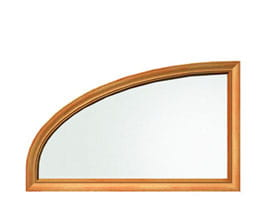 Partial Elliptical Special Shape Window